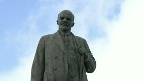 A Statue Of Lenin.