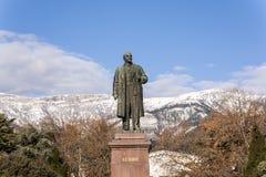 Statue of lenin in yalta Stock Image