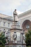 Statue of Leonardo Da Vinci, Milan, Italy Stock Photography