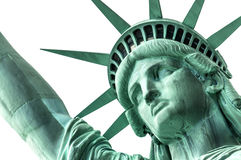 Statue of Liberty's head royalty free stock images