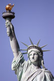 Statue of Liberty 1. Statue of liberty holding her torch a loft Stock Photography