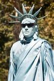 Statue liberty. Street artist like statue liberty atraction for tourist Stock Photo