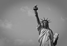 Statue of Liberty. In New York City royalty free stock photo