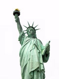 Statue of Liberty. On white background Royalty Free Stock Images