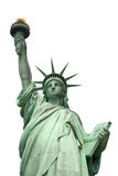 Statue of Liberty. New York, isolated on white stock photo