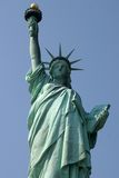 Statue of Liberty. Clear blue sky in background Royalty Free Stock Images