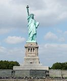 Statue of Liberty. Scenic view of Statue of Liberty, New York city harbor, U. S. A Stock Images
