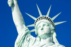 Statue of Liberty. Detail of Statue of Liberty National Monument, New York, USA Stock Photos