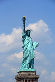 Statue of liberty. A shot of the famous Statue of Liberty in New York Royalty Free Stock Photography