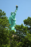 Statue of Liberty. View of Statue of Liberty from the rear on Liberty Island Royalty Free Stock Photo