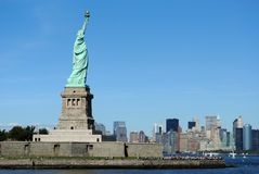 Statue of LIberty. The Statue of Liberty on Liberty Island Stock Image