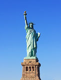 Statue of Liberty. The Statue of Liberty in New York City, USA against a clear blue sky Stock Image