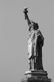 Statue of Liberty. Black and white Stock Photography