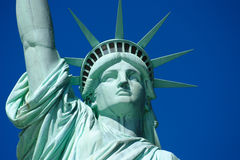 Statue of Liberty 2. Beautiful Lady libery's head Royalty Free Stock Images