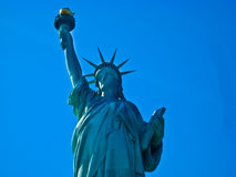 Statue of Liberty. And her flame Stock Images