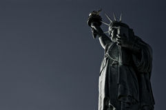 Statue of Liberty. On sky background Stock Images