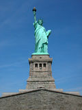Statue of Liberty. The Statue of Liberty located on Liberty Island in New York, New York royalty free stock photography