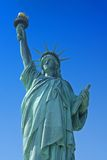 Statue of Liberty. Against a beautiful blue sky Royalty Free Stock Image