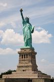 The Statue of Liberty. In New York Harbor royalty free stock images