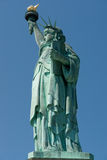 Statue of Liberty. Side view of the Statue of Liberty in New York City Stock Photos