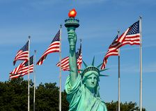 The Statue of Liberty Stock Photography
