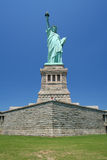 Statue of Liberty. Viewed from the front stock photo