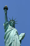 Statue of Liberty. Viewed from the front Stock Photography