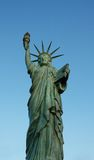 Statue of Liberty. Replica of Statue of Liberty at Alki Beach, Seattle Stock Photo