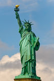 Statue of liberty. Full statue of liberty with dreamy background Royalty Free Stock Photos