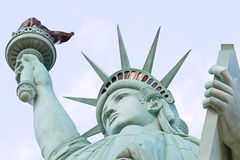 The Statue of Liberty. America,American Symbol,United states,New York,LasVegas,Guam,Paris Stock Photo