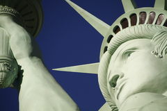 Low Angle View Of Statue Of Liberty Against Sky,America Royalty Free Stock Photography