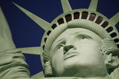 Low Angle View Of Statue Of Liberty Against Sky,America Stock Images