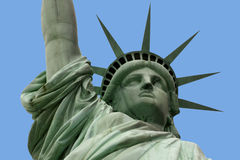 Statue of liberty and arm Royalty Free Stock Photography