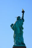 Statue of Liberty back side Royalty Free Stock Images