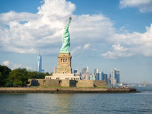The Statue of Liberty on a beautiful summer day Royalty Free Stock Photo