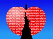 Statue of Liberty big apple Stock Photography