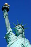 Statue of Liberty close-up Stock Images