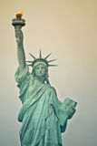 Statue of Liberty. Close-up Royalty Free Stock Photography