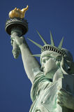 Statue of Liberty Close-Up Torch and Crown Royalty Free Stock Photo