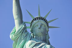 Statue of Liberty closeup in New York City Royalty Free Stock Photography