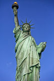 Statue of Liberty. Closupe shot of Statue of Liberty Royalty Free Stock Images