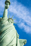The Statue of Liberty. Is a colossal copper statue designed by Auguste Bartholdi a French sculptor was built by Gustave Eiffel stock photos