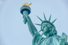 The Statue of Liberty in the United States royalty free stock photos