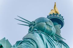 The Statue of Liberty in the United States stock images