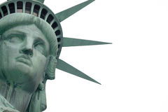 Statue of liberty. The Statue of Liberty is a colossal neoclassical sculpture on Liberty Island in New York Harbor in New York City, The copper statue, designed royalty free stock photo