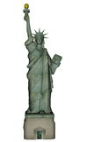 Statue of Liberty - 3D render Stock Photography