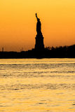 Statue of Liberty - Dusk View. Dusk view of the Statue of Liberty royalty free stock image