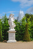 Statue of liberty with eagle in the Gardens of Versailles, Franc Royalty Free Stock Photos