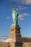 Statue of Liberty. With entire base Royalty Free Stock Image