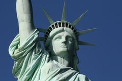 Statue of Liberty Face royalty free stock photography